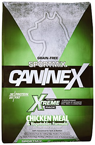 Sportmix Caninex Chicken Meal And Vegetables Grain Free Dry Dog Food, 40 Lb. (Beta Dog Food Best Price)
