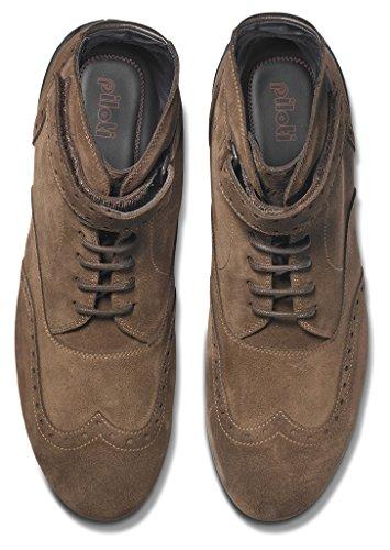 Suede 5 Shoes 00118 piloti 2BROWNSUEDE11 Brown UFTFnP