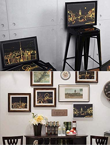 スクラッチ&スクラッチ、彫刻美術セット、ドローイングペンとクリーンブラシ、新年のアート&クラフトのギフトを絵画スケッチアート紙、虹
