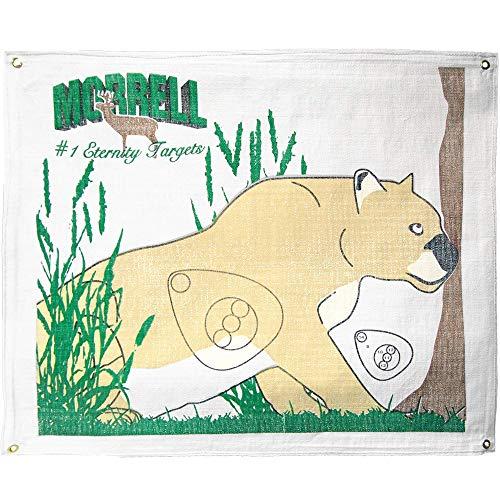 Lion Target - Morrell Targets Polypropylene Archery Target Face, Mountain Lion