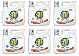 all with Stainlifters Oxi Free Clear Liquid Laundry Detergent, 141 fl oz (Pack of 6)
