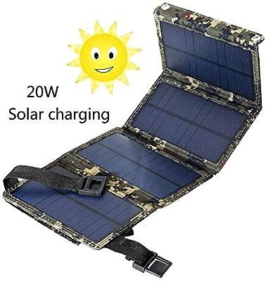 ANZQTAIYANG El Cargador Solar Portable del Cargador, a ...