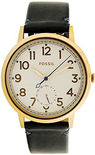 Fossil-Womens-Quartz-Stainless-Steel-and-Leather-Watch-ColorBlue-Model-ES4062