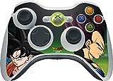 #3: Dragon Ball Z Xbox 360 Wireless Controller Skin - Dragon Ball Z Goku & Vegeta Vinyl Decal Skin For Your Xbox 360 Wireless Controller