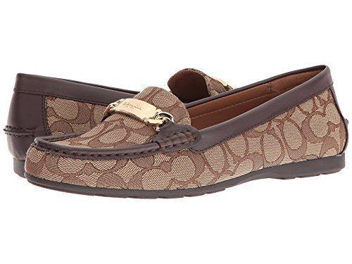 Coach Women's Olive Khaki/Chestnut Shoe
