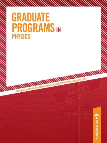 Graduate Programs in Physics