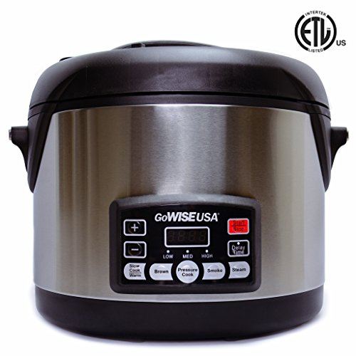 GoWISE USA 6-Quart 8-in-1 Electric Pressure Cooker