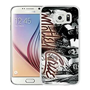 motley crue White New Recommended Design Samsung Galaxy S6 Phone Case