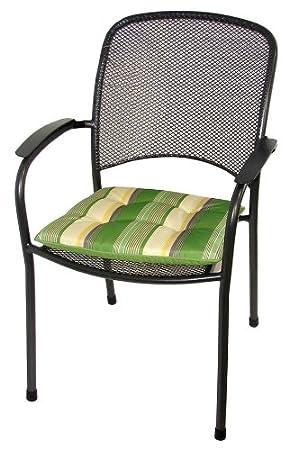 royal garden carlo outdoor garden metal stacking chair pack of 2