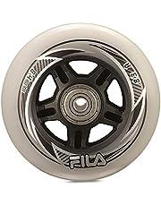 Fila Wheels Spacer wielen, wit, 84 mm