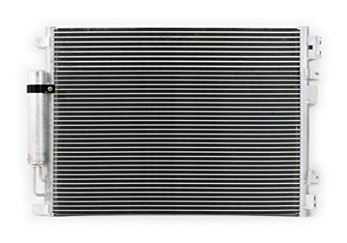 A-C Condenser - Pacific Best Inc For/Fit 3237 05-10 Chrysler 300 12-14 300 Sedan 08-16 Dodge Challenger 06-09 Charger 12-16 Charger ()