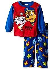 """Paw Patrol Little Boys' Toddler """"Pups at Work"""" 2-Piece Pajamas"""