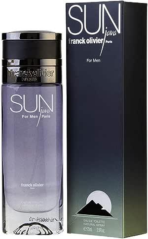 Sun Java Cologne by Franck Olivier, 2.5 oz Eau De Toilette Spray for Men by Franck Olivier