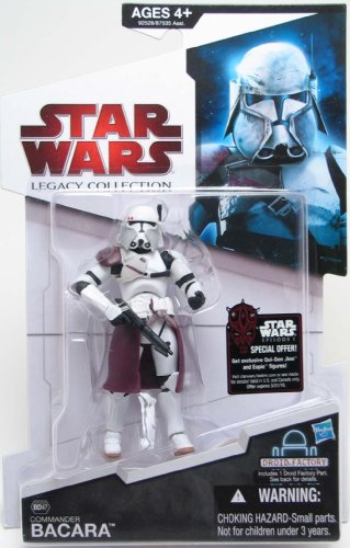 - Commander Bacara BD47 Star Wars Legacy Collection Action Figure