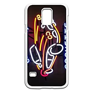 Samsung Galaxy S5 Cases Neon Design Hard Back Cover Cases Desgined By RRG2G
