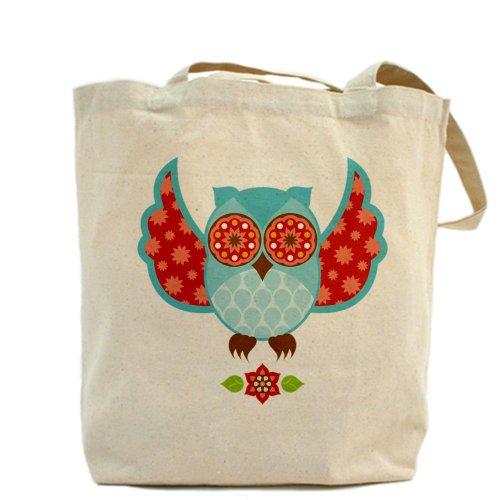 CafePress bolsa para herramientas de diseño de búho - - de flores de bolsa para herramientas de