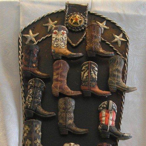 Cowboy Boot Magnet Holder by Sat'n Spurs Western Wear