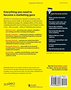 Marketing For Dummies (For Dummies (Business & Personal Finance)) from For Dummies