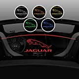 2013-2018 Jaguar F-Type Convertible Wind Screen - Control air flow, cut down backdraft, wind noise - Patented Easy Install, Secure Mounting - Laser-Etched Design - Red Lighting