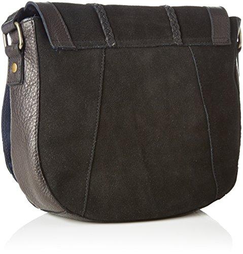 Pccameo Bag Pieces Black Black Shoulder Black Bag Over Women's Leather Cross BZ5fx