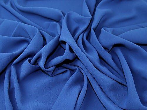 Crepe Tejido-Color Azul Marino-Poliéster