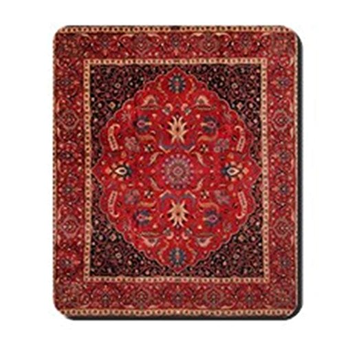 Persian Mashad Rug - Non-Slip Rubber Mousepad, Gaming Mouse Pad 1822cm