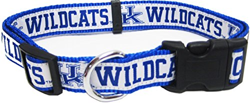 Pets First Collegiate University of Kentucky Wildcats Pet Collar, Small