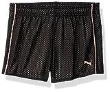 PUMA Toddler Girls' Core Mesh Shorts, Black, 3T