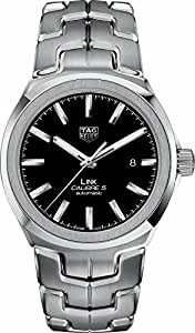 TAG Heuer Link 41mm Black Dial Men's Watch WBC2110.BA0603