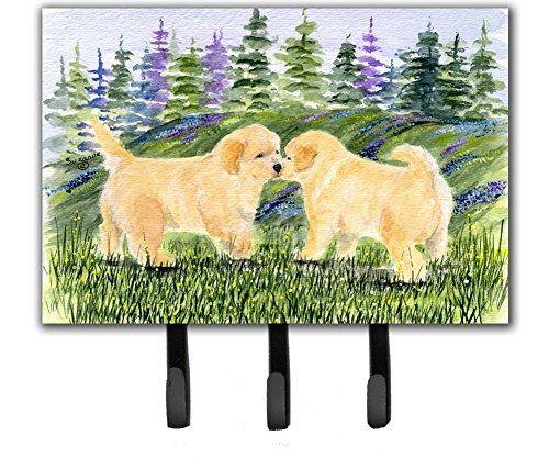 Caroline's Treasures SS8102TH68 Golden Retriever Leash Holder or Key Hook, Large, ()