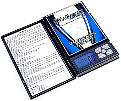 MR-PPS2 weight checker 2,000 Grams Much-More Professional Pocket Scale