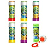 Bubble World Fun Bubble Bottles (6 Pack) Bubbles - Best Reviews Guide