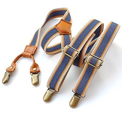 Braces Men New Vintage Suspenders Clip General Casual Clothing Fashion Clothing Recessionista Suspenders for Men Dan Women