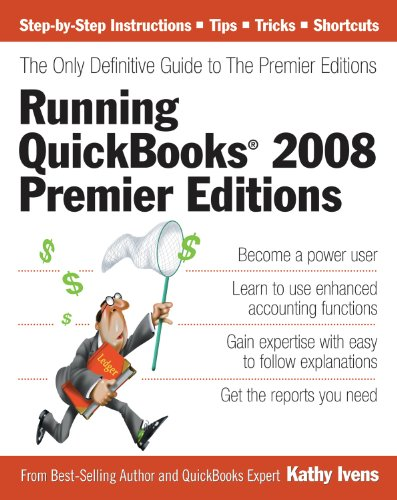 Running QuickBooks 2008 Premier Editions: The Only for sale  Delivered anywhere in Canada