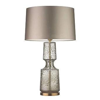 Lámpara de mesa moderna lámpara de mesa de vidrio creativo ...