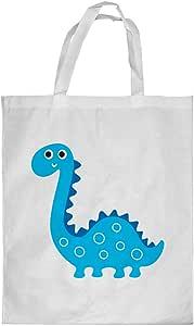 Printed Shopping bag, Small Size, Cartoon Drawings - Dinosaur