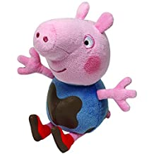 "Ty Peppa Pig 6"" Beanie - George Muddy Puddles"