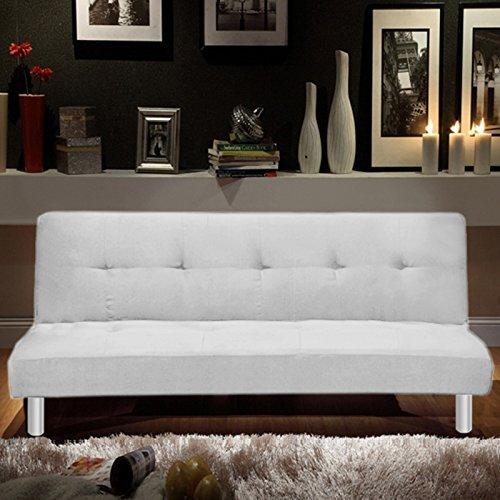 Sofá cama Bagno Italia 180x80, 3 puestos de microfibra ...