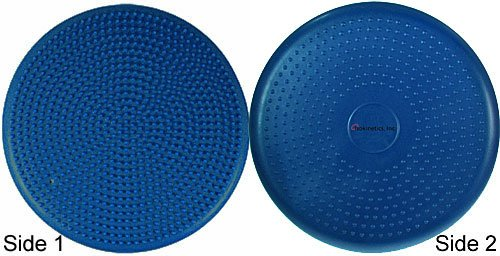 "Isokinetics Inc. Brand Exercise Disc / Balance Cushion - 14"" Diameter - For Exercise and Therapy - Many Color Choices"