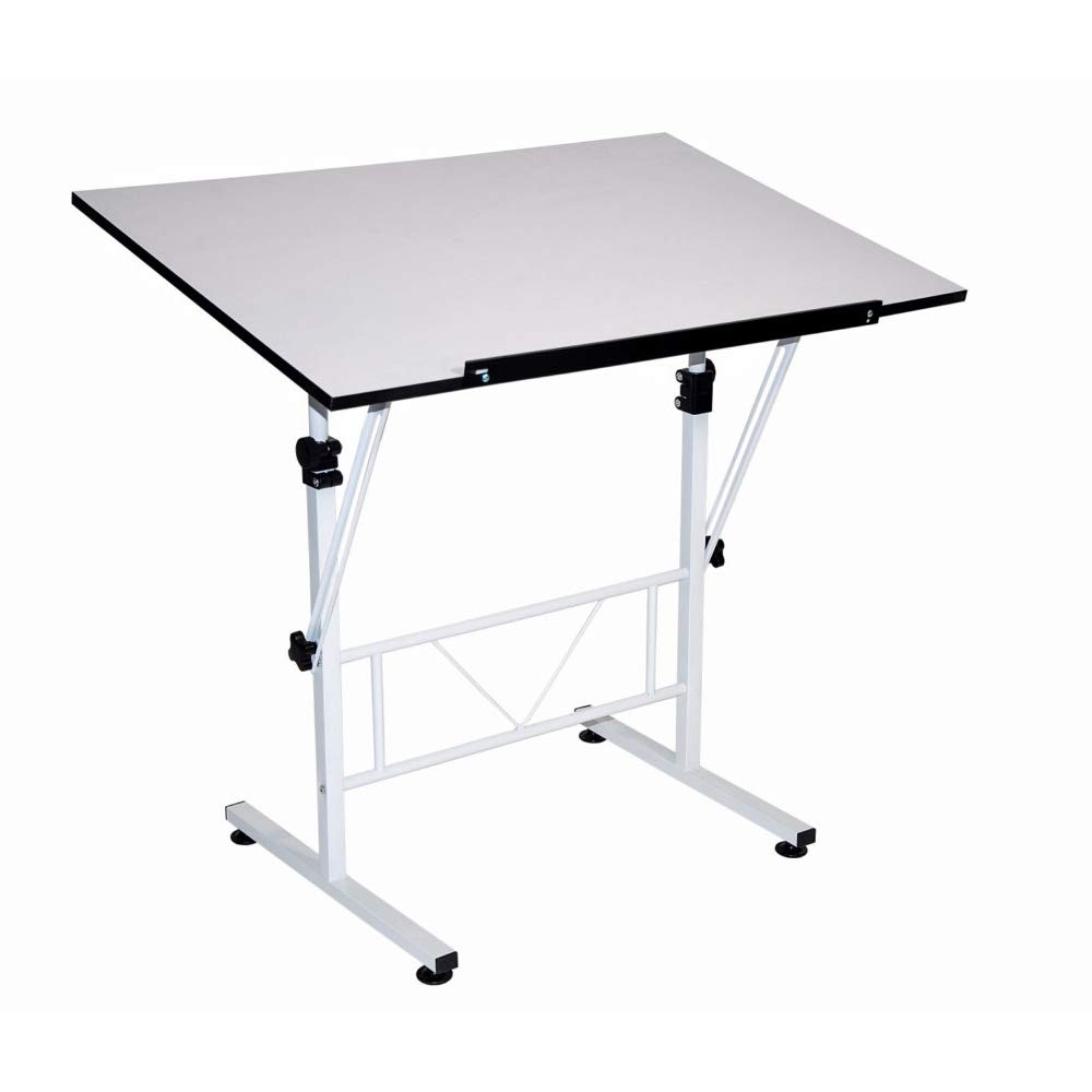 Martin Smart Art-Hobby Table, White with White Top, 24-Inch by 36-Inch Size Surface by Martin