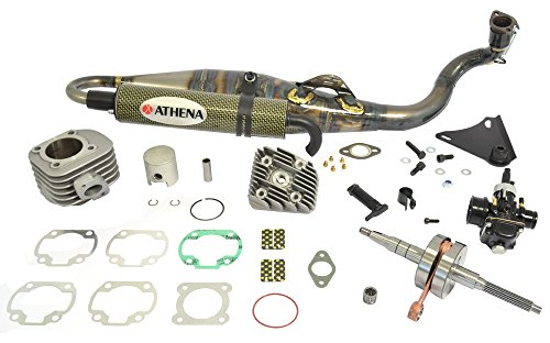 - Athena (P400485105002) 47.6mm Diameter Aluminum 70cc Racing Cylinder Kit
