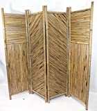 Master Garden Products 4-Screen Bamboo Divider