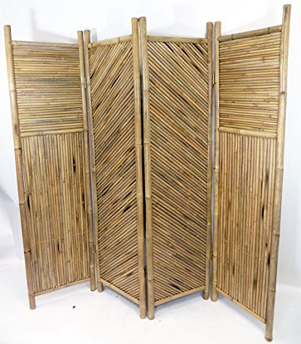 Master Garden Products 4-Screen Bamboo Divider from Master Garden Products