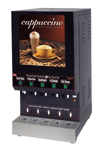 Grindmaster-Cecilware GB5M10-LD 5-Flavor Hot Powder Beverage Dispenser, ()