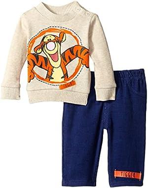 Disney Baby Boys'  Tigger 2 Piece Sweater Set