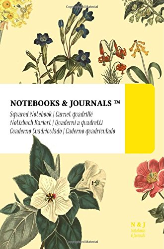 Download Notebooks & Journals, Flowers (Nature Collection) Pocket, Squared, Soft Cover: (4 x 6)(Classic Notebook, Journal, Sketchbook, Diary, Composition Notebook) pdf