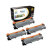 Catch Supplies Replacement TN660 High Yield Black Toner Cartridge 4 Pack |2,600 yield| Replaces Brother TN-660, compatible with the HL-L2300,L2320,L2340,L2360, DCP-L2500,L2520, MFC-L2700,L2720,L2740