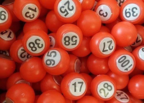 18mm ClubKing Ltd Raffle Balls 301 to 400