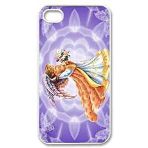 Yo-Lin case IKAI0448240Angel In The Sky For Iphone 4 4S case cover