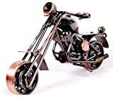 Motorcycle decor, Handmade Motorcycle Model Collectible Art Sculpture Motorbike For Home Decor (M34-1)